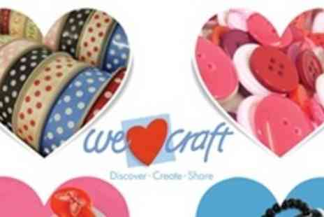 We Heart Craft - Spend on all things arts and crafts - Save 50%