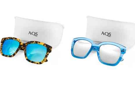 AQS Brand Inc - AQS Unisex Rory Sunglasses With Free Delivery - Save 90%