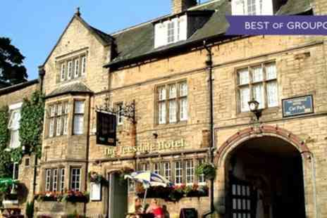 The Teesdale Hotel - One to Three Nights Stay For Two With 3 Course Dinner and Wine - Save 0%