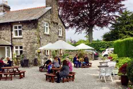 Barbon Inn - Three Courses for 2 at Cumbrian Farmhouse Inn - Save 42%