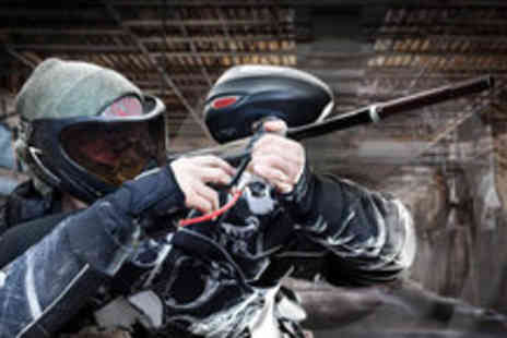 Asylum Paintball - Indoor paintballing session for five - Save 94%