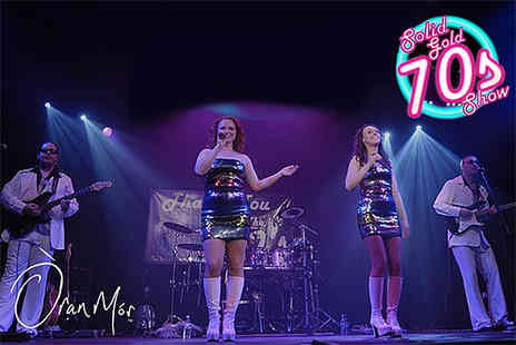 Solid Gold Management - Ticket to the Solid Gold 70s Show on 22nd October - Save 39%