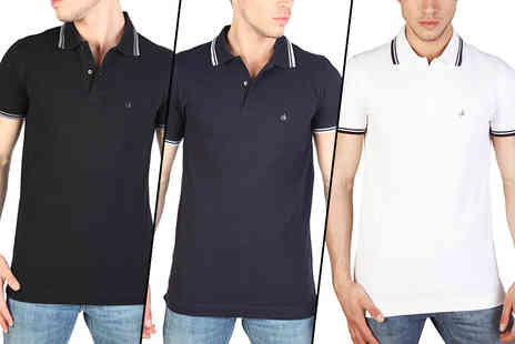 IDT Spa - Calvin Klein polo choose from three colours - Save 58%
