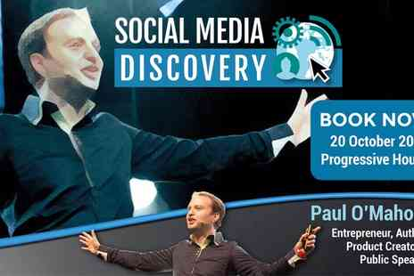 Progressive Property - Social Media Discovery Day on 20 October at 9 a.m. or 2 p.m. - Save 0%