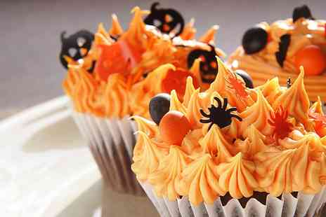 Iced Yorkshire - Halloween Cupcake Decorating Class for One Adult and One Child - Save 0%