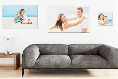 Photo Gifts - Personalised Canvas - Save 0%