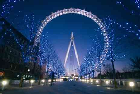 London Eye - Sights of London One Night Break with The Coca-Cola London Eye for Two - Save 0%