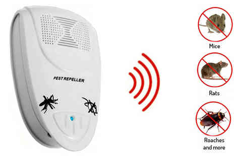 Hc Electronics Technology - Plug In Ultrasonic Pest Repeller - Save 78%