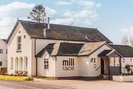 The Mill Race - Highly Rated Herefordshire Inn Three Course Meal for 2 - Save 48%