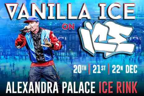 Wirral Rocks - One ticket to the Vanilla Ice on Ice concert on 20th to 22nd Dec or ticket with ice skating or super skater ticket or VIP ticket - Save 0%