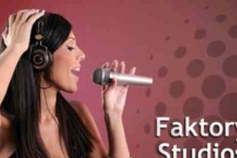 Faktory Studios - Recording Studio Experience For Four - Save 79%