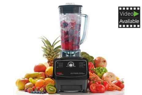 Groupon Goods Global GmbH - Cooks Pro Nutri Blend 1200W High Powered Blender With Free Delivery - Save 81%