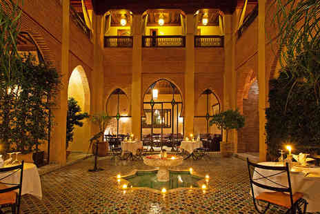 Riad Le Perroquet Bleu - Five nights Stay in a Junior Suite - Save 67%
