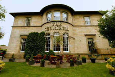 The Churchill Hotel - Weekend Boutique Escape with Dinner for Two - Save 25%