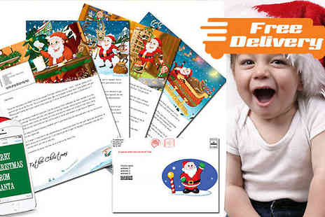Fuel Tank Media - Personalised Letter from Santa - Save 56%