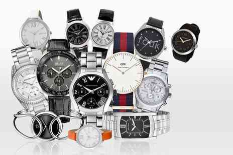 Brand Arena - Mystery watch for him or her from brands include Daniel Wellington, Armani, Michael Kors, Swiss Military, Hugo Boss and more - Save 0%