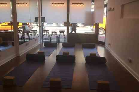 Yoga Lab - Five or Ten Yoga Classes for One or Two - Save 70%