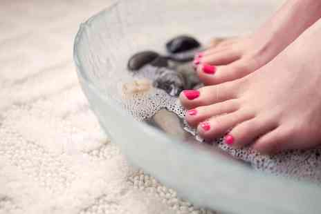 Eighty 8 NailSPA - Intensive Pedicure with Shellac Polish on Kings Road - Save 51%