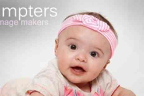 Sumpters The Imagemakers - Three Growing Baby Photo Sessions With Leather Album - Save 86%