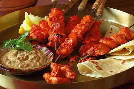 India Gate - Two Courses for Two or Four - Save 51%