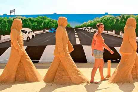 Weston Sand Sculpture Festival - Entry for Two or a Family of Four to Sand Sculpture Festival - Save 50%