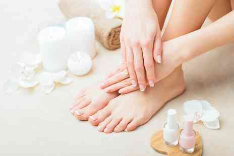 Grace Hair and Beauty - Gelish Manicure, Pedicure or Both - Save 0%