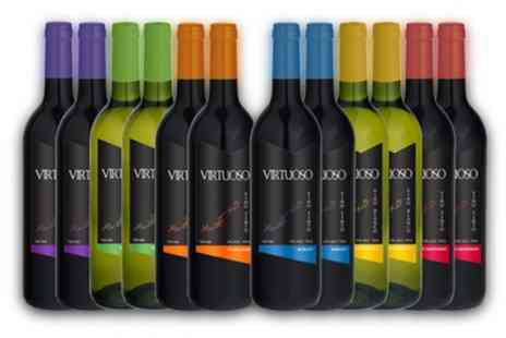 Karpe Deal S.L. - 12 Bottle Case of Mixed Variety Wines With Free Delivery - Save 47%