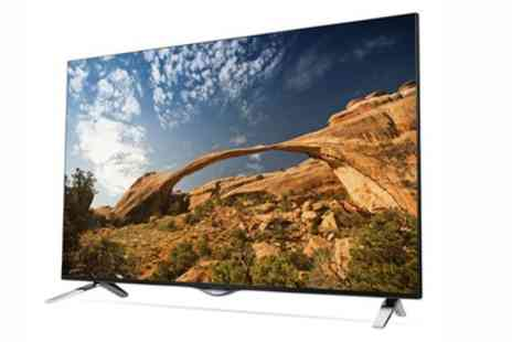 Groupon Goods Global GmbH - LG 49UF695V 49 Inch UHD 4K Smart TV With Free Delivery - Save 0%