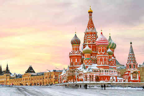 Russian Twin Centre - Five Star 3 nights accommodation in Moscow Hotel - Save 70%