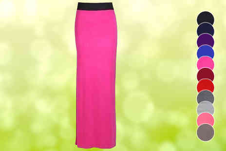 The Fashion City - Gypsy Maxi Skirt in 11 Colours - Save 50%