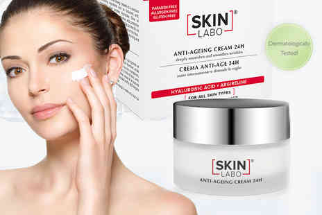 IDT Spa - 50ml of dermatologically tested 24 hour anti age cream - Save 73%