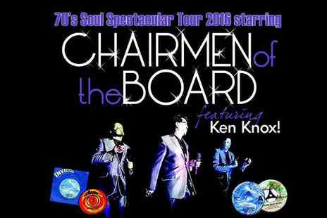 Gold Soul - Two tickets to see Chairmen of the Board live On 25th September - Save 50%