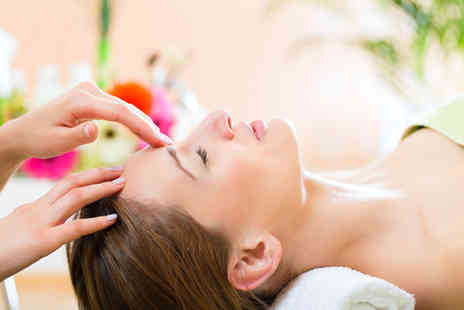 New Look Skin Care Beauty Salon - 90 minute slimming body wrap and 30 minute express facial - Save 71%