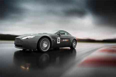 Drift Limits - 14-lap Aston Martin V8 Vantage supercar experience - Save 50%