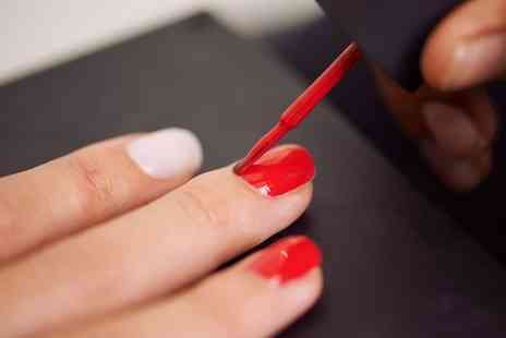 Pzazz Hair and Beauty Boutique - Gel Manicure or Pedicure or Both - Save 0%