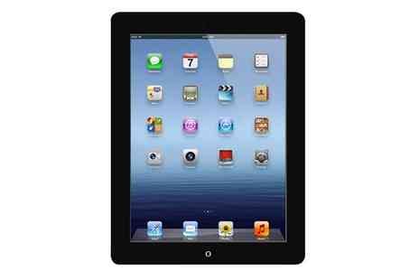 3 STEP IT - Refurbished Apple iPad 4 16GB WiFi in Black With Free Delivery - Save 0%