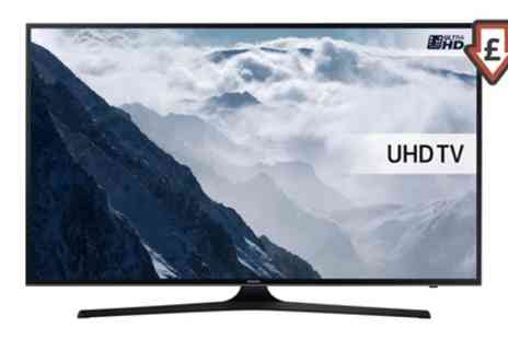 Groupon Goods Global GmbH - Samsung UE50KU6000 or UE55KU6000 UHD HDR Smart LED TV With Free Delivery - Save 12%