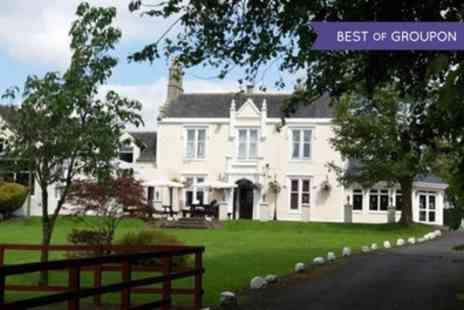 Burnhouse Manor Hotel - One to Three Nights Stay for Two with Breakfast - Save 54%