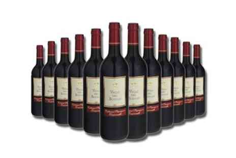 Karpe Deal SL - 12 Bottles of Cabernet Sauvignon Tempranillo Red Wine With Free Delivery - Save 56%