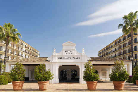 H10 Andalucia Plaza - Four Star 5 nights Stay in a Deluxe Room - Save 61%