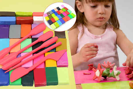 Last Chance Supplies - 37 Piece Modelling Clay Set - Save 64%