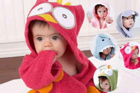 Last Chance Supplies - Babies Hooded Bath Robe Five Styles - Save 50%