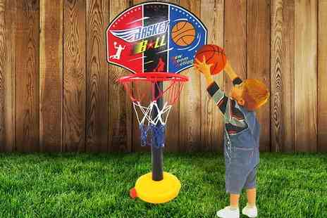 Last Chance Supplies - Childrens Adjustable Basketball Stand - Save 63%