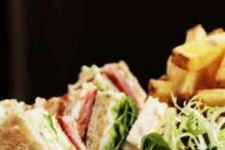 The Warwick - Lunchtime Feast An Old School Sarnie with Chips and a Soft Drink for 2 - Save 50%