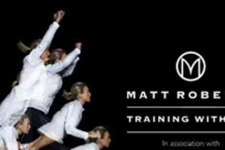 Matt Roberts & Conviviality - Celebrity Trainer Matt Roberts Initial Assessment plus 6 week personal training - Save 50%