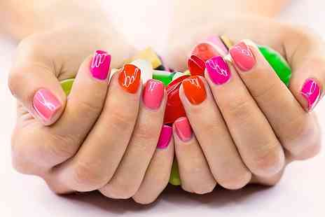 Nail Divas - VIP Beauty Card Plus Shellac Polish on Fingers or Toes or Both - Save 74%