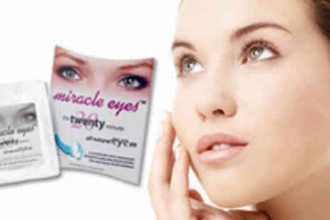 Bio Energiser - 5 sets of Miracle Eyes Micro Current Eye Contour Patches  - Save 81%