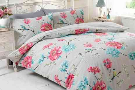 Groupon Goods Global GmbH - Clearance Duvet Sets in Choice of Size and Design - Save 83%
