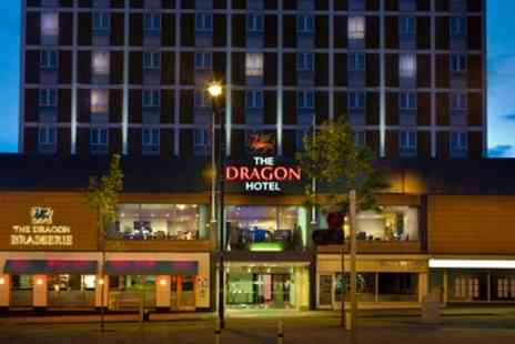 4 star Dragon Hotel - Swansea Stay with Breakfast, 25 Minute Spa Treatment and Spa Access - Save 33%