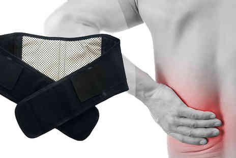 HB Wholesale - Unisex Self Heating Back Brace - Save 71%